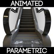 Escalier mécanique paramétrique 3d model
