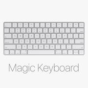 Klawiatura Apple Magic Keyboard 3d model