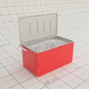 Raffreddatore con ghiaccio 3d model