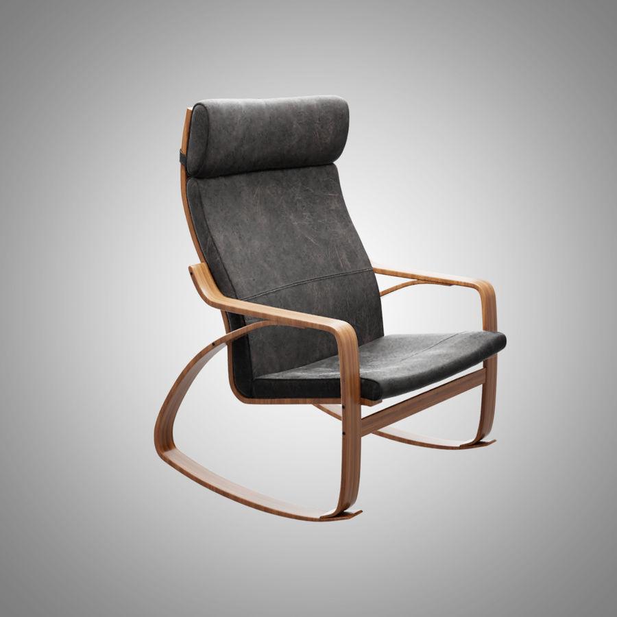 Chaise Poang Ikea modèle 7D $7 - .fbx .obj .blend - Free7D