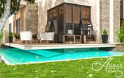Außenansicht Sunset Villa Design 3d model