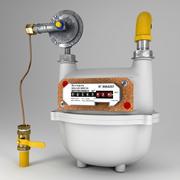 Licznik gazu 3d model