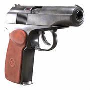 Makarov Pistol old & dirty (PM - Modèle de jeu PBR) 3d model