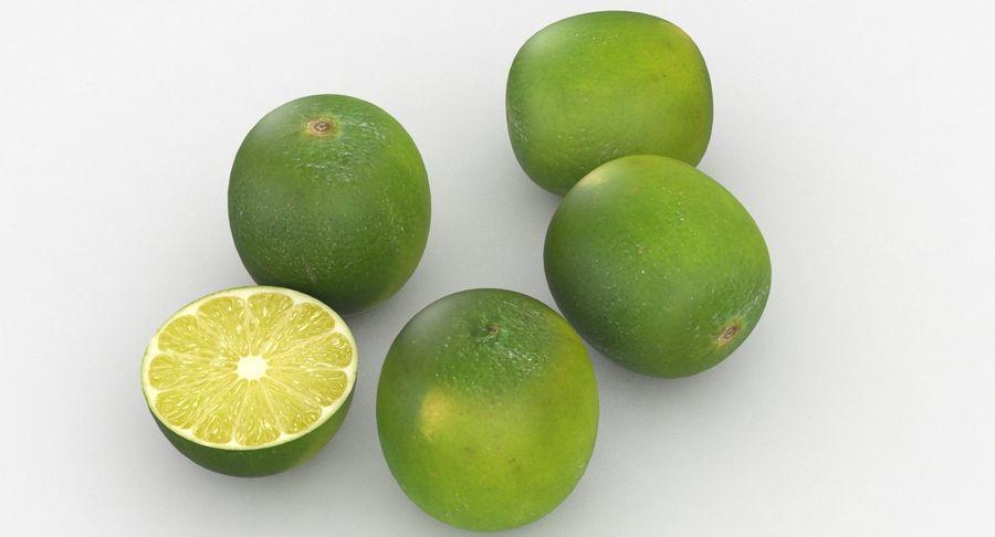 Meyve Yeşili Kireç royalty-free 3d model - Preview no. 4