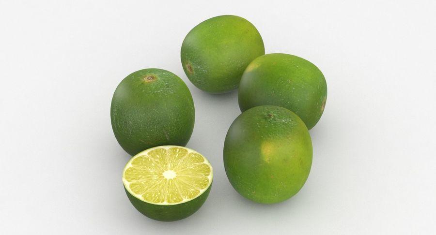 Meyve Yeşili Kireç royalty-free 3d model - Preview no. 3