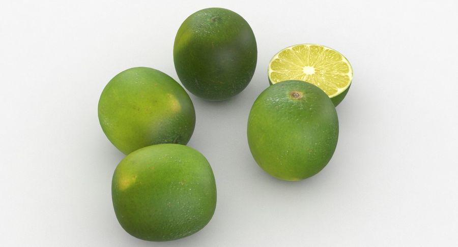 Meyve Yeşili Kireç royalty-free 3d model - Preview no. 6