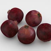 Granada de frutas modelo 3d