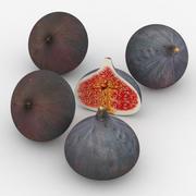 과일 무화과 3d model