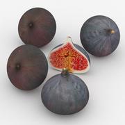 水果无花果 3d model