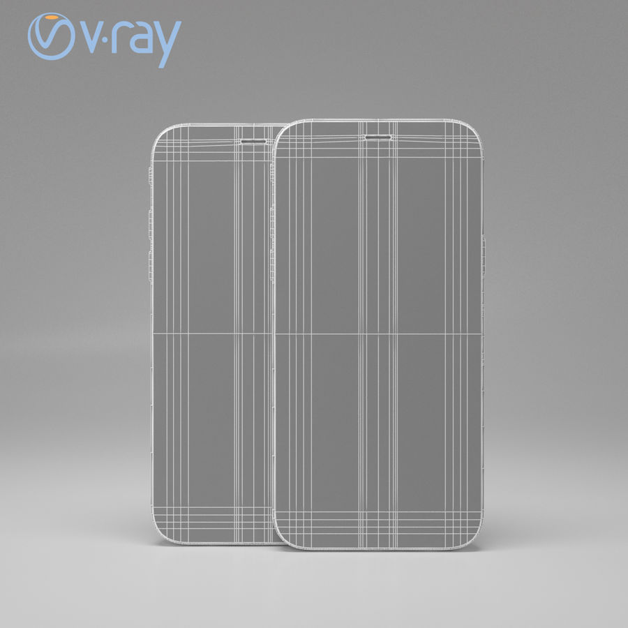 Apple iPhone X royalty-free 3d model - Preview no. 20