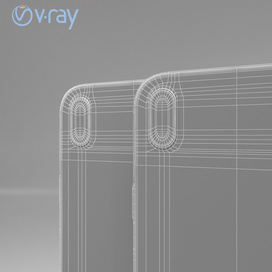Apple iPhone X royalty-free 3d model - Preview no. 16