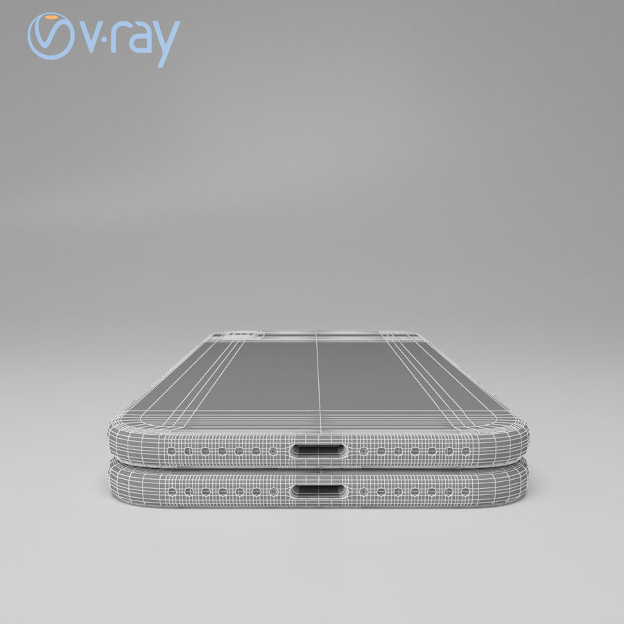 Apple iPhone X royalty-free 3d model - Preview no. 21