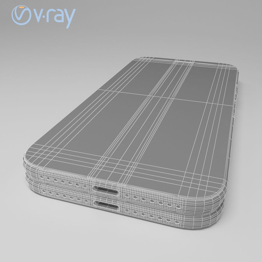 Apple iPhone X royalty-free 3d model - Preview no. 23