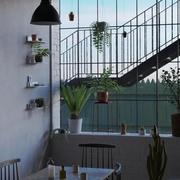 Lägenhet Fönster 3d model