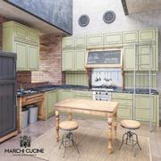 Marchi Cucine-NOLITA COM.01(シーン) 3d model