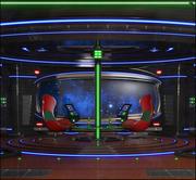 Sci-Fi Room V2 3d model