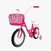 Bike Kids 3d model
