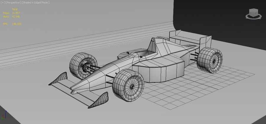 Formel 1 royalty-free 3d model - Preview no. 7