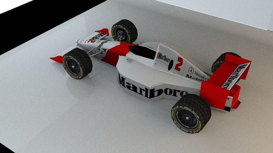 Formel 1 royalty-free 3d model - Preview no. 2