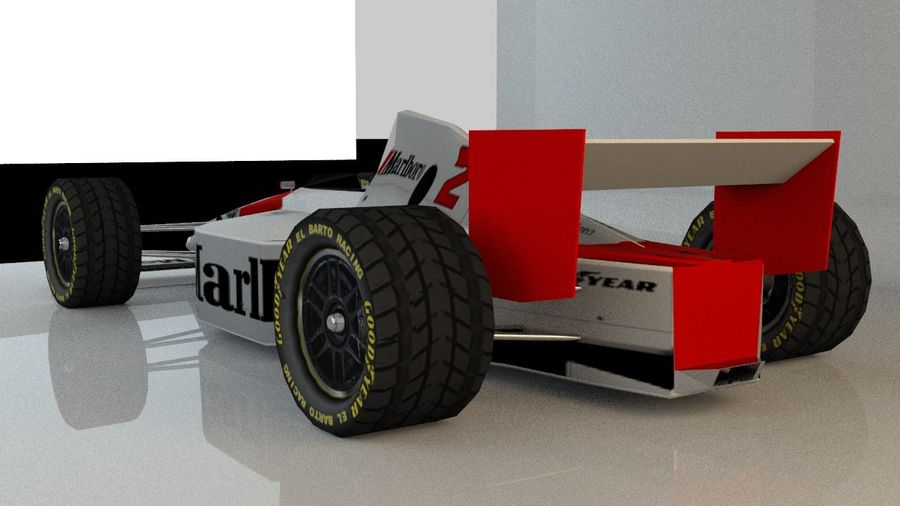 Formel 1 royalty-free 3d model - Preview no. 5