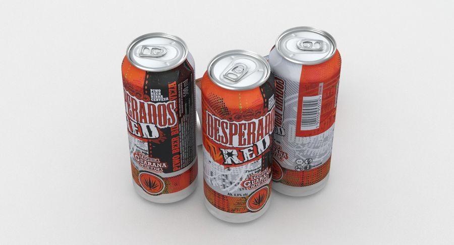 Beer Can Desperados Red 500ml 3d Model 19 Max Free3d