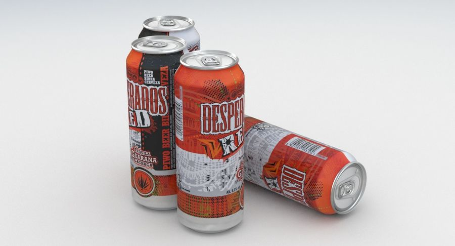 Beer Can Desperados Red 500ml 3d Model 19 Max Free3d