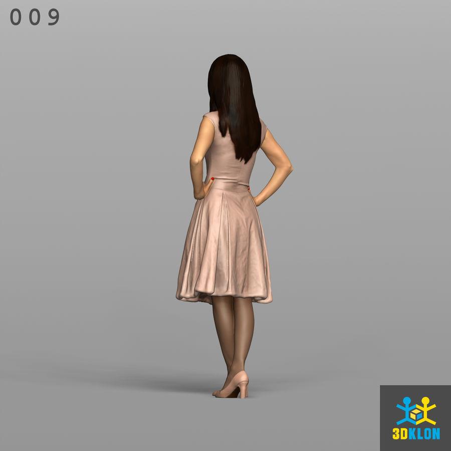 Digitalização 3D alta poli de menina royalty-free 3d model - Preview no. 9