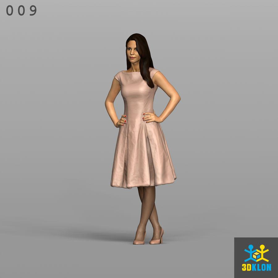 Digitalização 3D alta poli de menina royalty-free 3d model - Preview no. 1