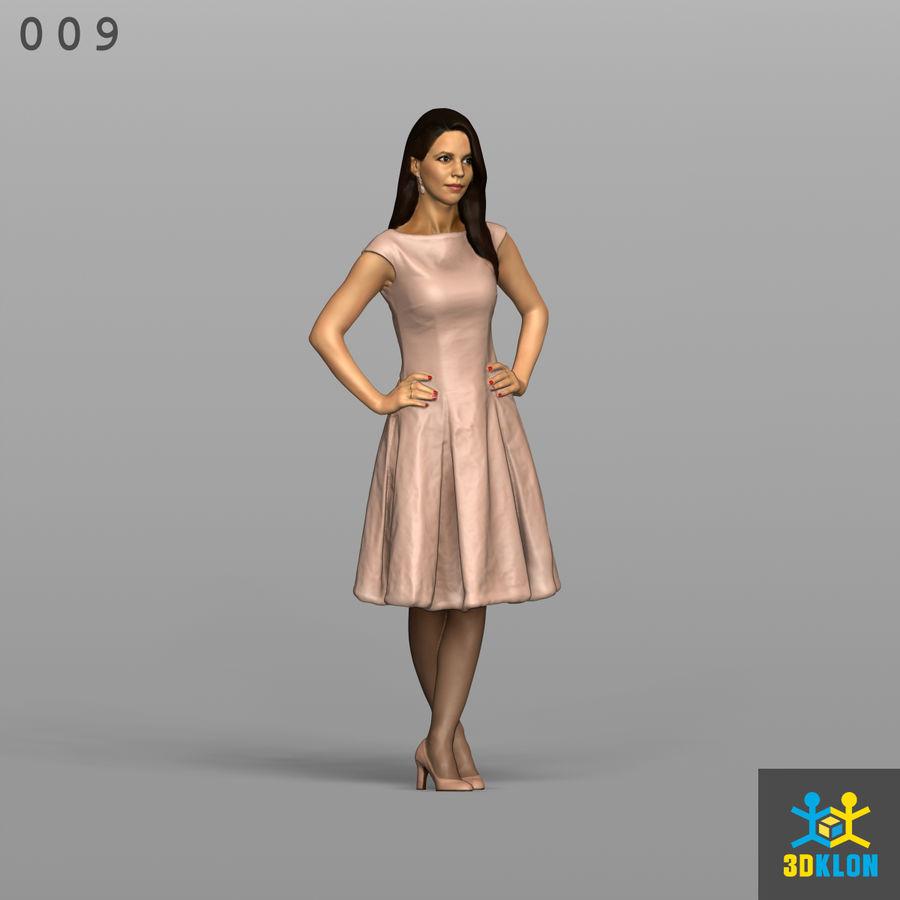 Digitalização 3D alta poli de menina royalty-free 3d model - Preview no. 3
