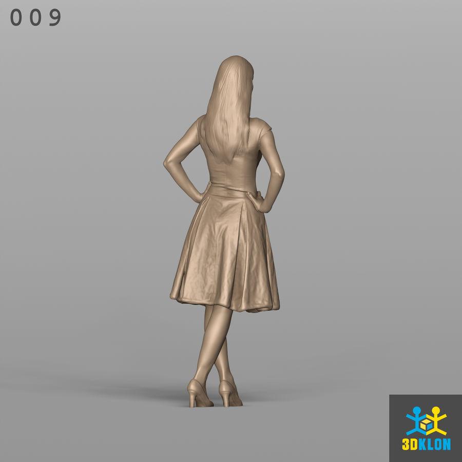 Digitalização 3D alta poli de menina royalty-free 3d model - Preview no. 8
