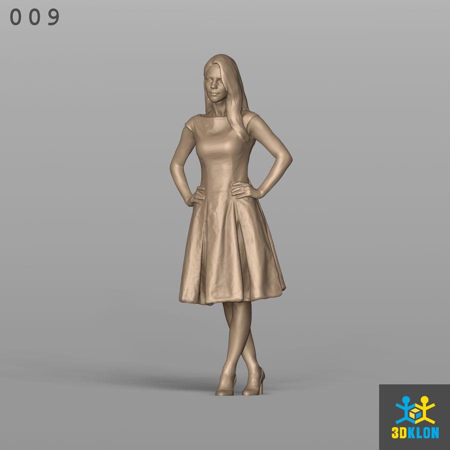 Digitalização 3D alta poli de menina royalty-free 3d model - Preview no. 2