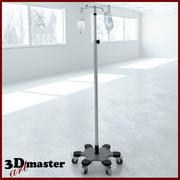 Tıbbi İnfüzyon Pompası Standı 3d model