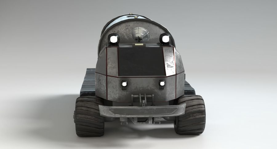Camion-citerne Sci Fi royalty-free 3d model - Preview no. 5
