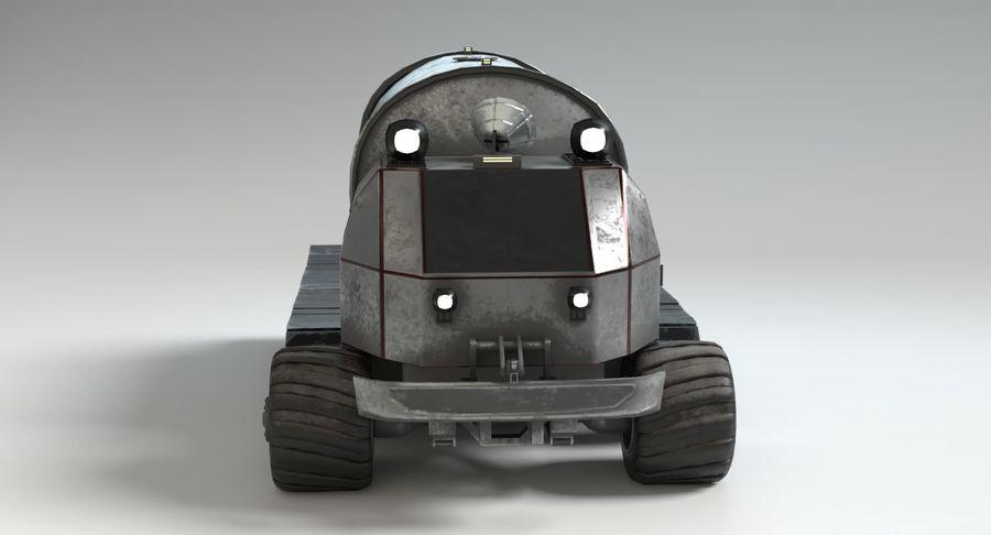 Sci Fi Tank Truck royalty-free 3d model - Preview no. 5