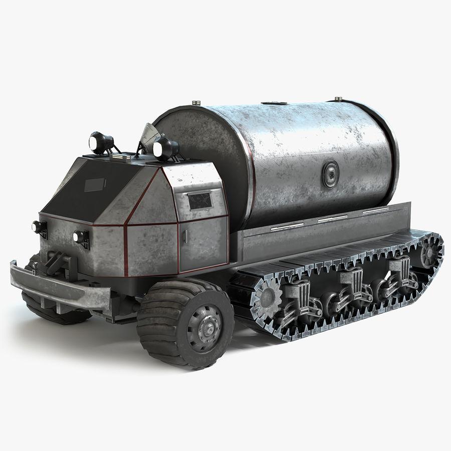 Sci Fi Tank Truck royalty-free 3d model - Preview no. 1