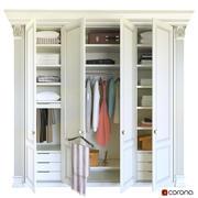 armario clásico modelo 3d