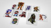 Juegos Clásicos Pixel modelo 3d