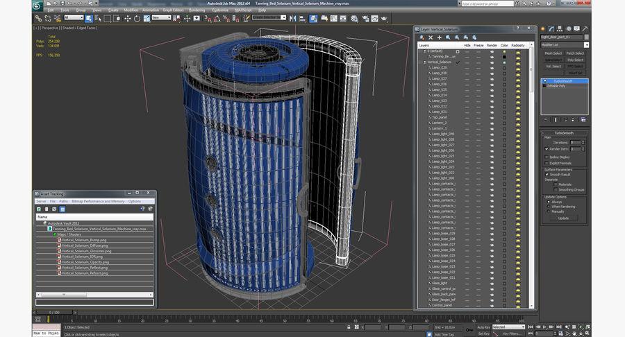 Machine 3D Solarium Vertical Solarium Machine Modèle royalty-free 3d model - Preview no. 13