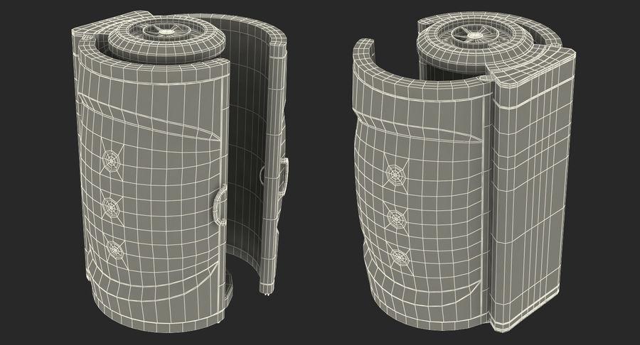Machine 3D Solarium Vertical Solarium Machine Modèle royalty-free 3d model - Preview no. 16