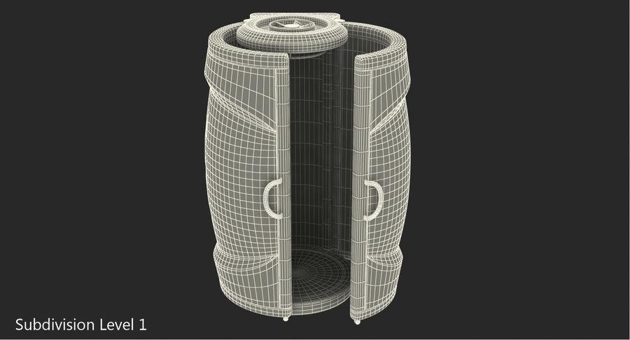 Machine 3D Solarium Vertical Solarium Machine Modèle royalty-free 3d model - Preview no. 10