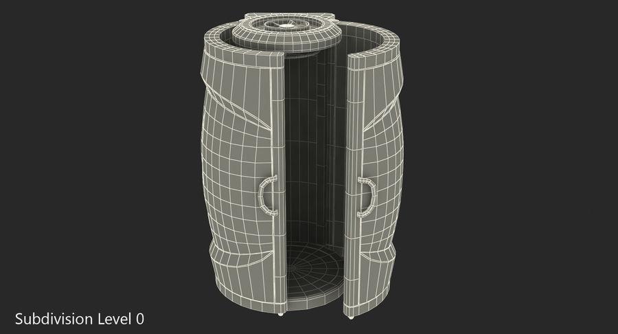 Machine 3D Solarium Vertical Solarium Machine Modèle royalty-free 3d model - Preview no. 9