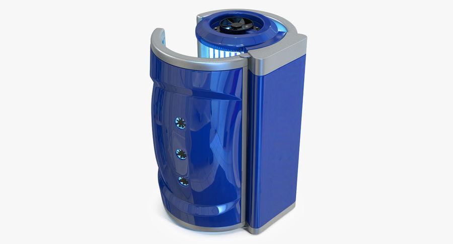 Machine 3D Solarium Vertical Solarium Machine Modèle royalty-free 3d model - Preview no. 3