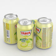 Beverage Can Tamek Guava Nectar 330ml 3d model
