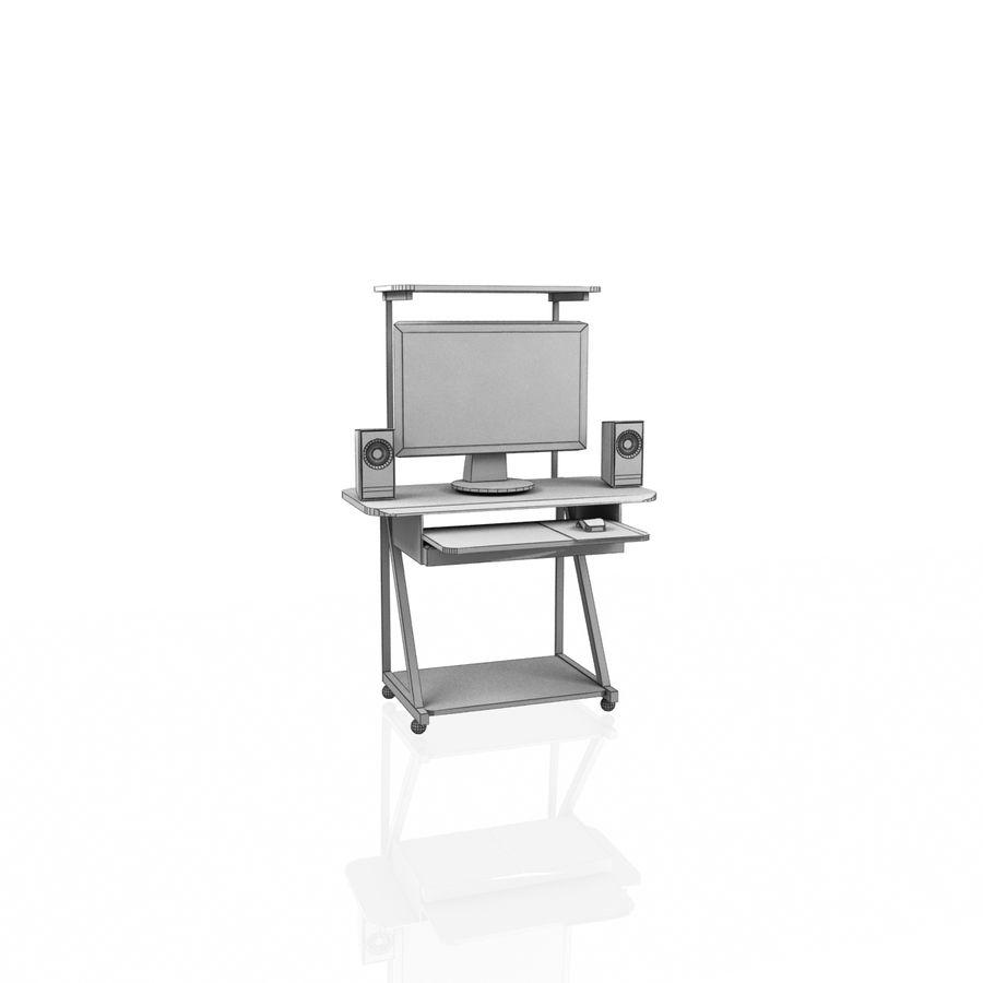Tavolo per computer royalty-free 3d model - Preview no. 7