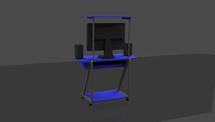 Datorbord royalty-free 3d model - Preview no. 5