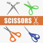 Coleção Scissors 3d model