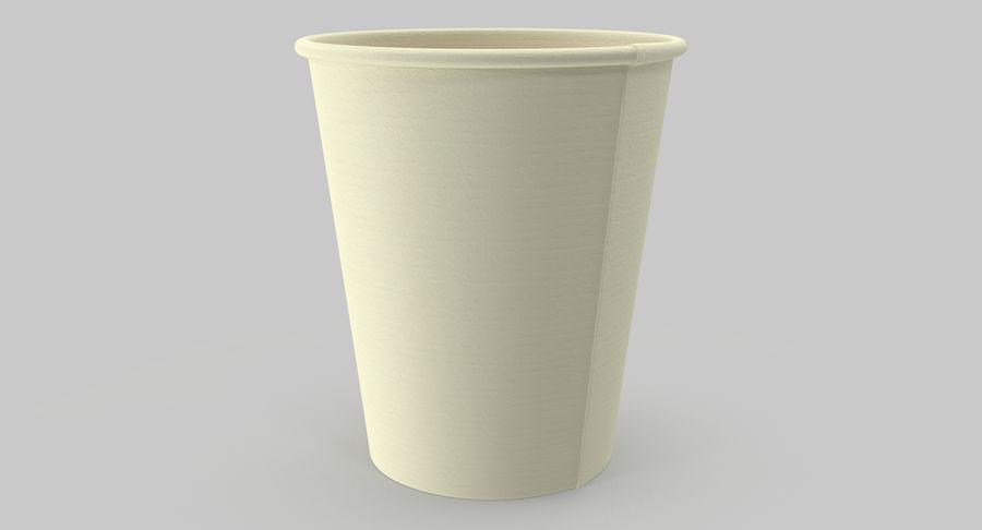 Papieren koffiekopje royalty-free 3d model - Preview no. 12