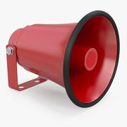 Red Horn Speaker Generic 3D Model 3d model