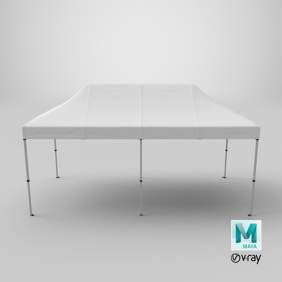 10x20 Tent 01 royalty-free 3d model - Preview no. 21