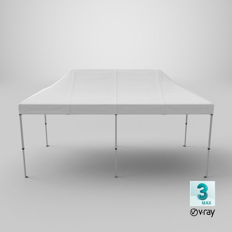 10x20 Tent 01 royalty-free 3d model - Preview no. 23